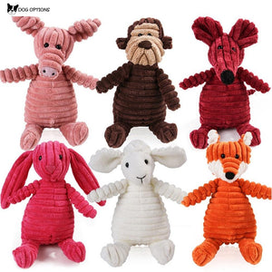 Animals Plush Dog Toy-Dog Options
