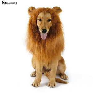 LION MANE COSTUME FOR LARGE DOG-Dog Options