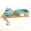 The Leaf PERSONALIZED DOG COLLAR SET-Dog Options