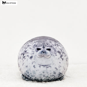 Round Sea Lion Soft Plush Pillow-Dog Options