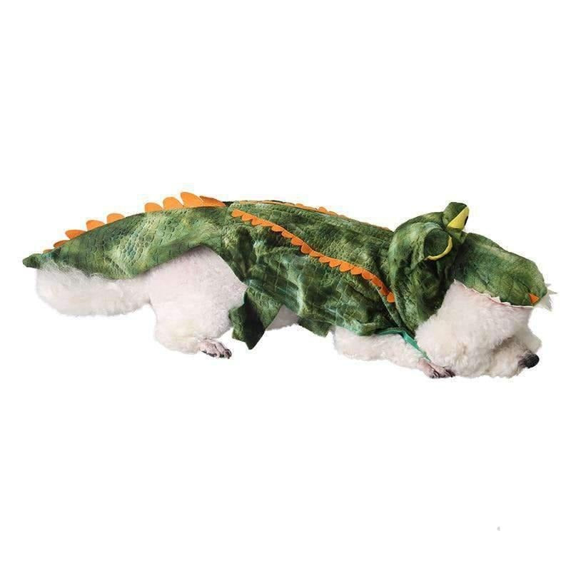 Crocodile Dog Costume-Dog Options
