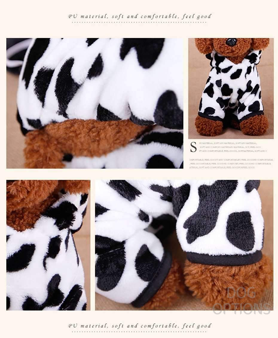 Cow Cosplay Dog Clothes For Small Pet-Dog Options