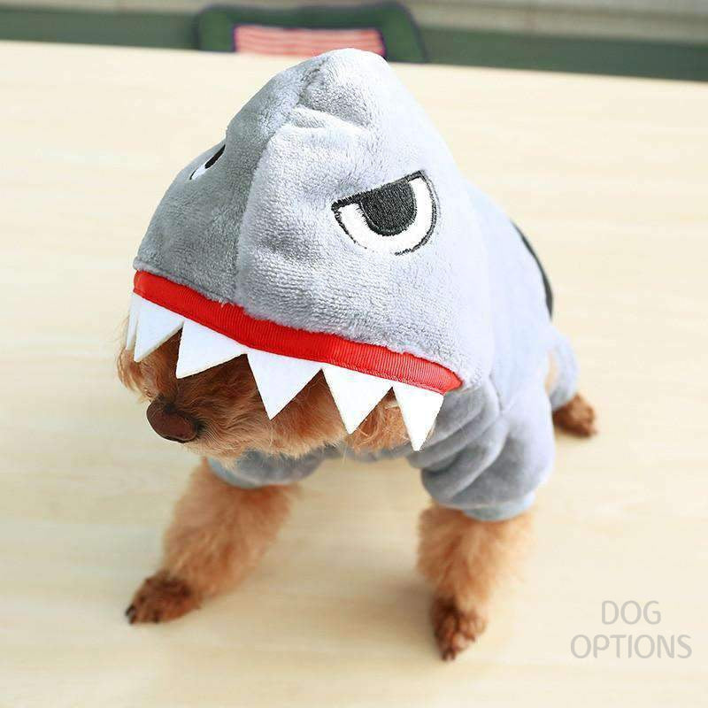 Little Shark dog cosplay for small pets-Dog Options