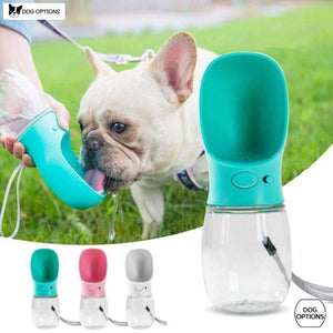 Dog Options: Portable Dog Water Bottle-Dog Options