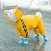 Cute Animal Dog Raincoat