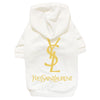 YSL Classic Dog Hoodies-Dog Options