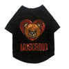 Pawschino Black Dog T-Shirt