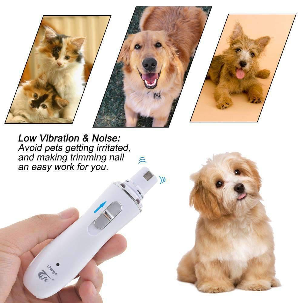 Electric Pet Nail Clipper Rechargeable-Dog Options