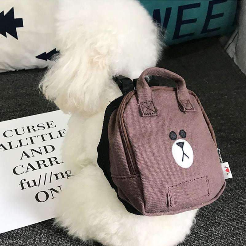 Cute Cartoon Dog's Bag-Dog Options