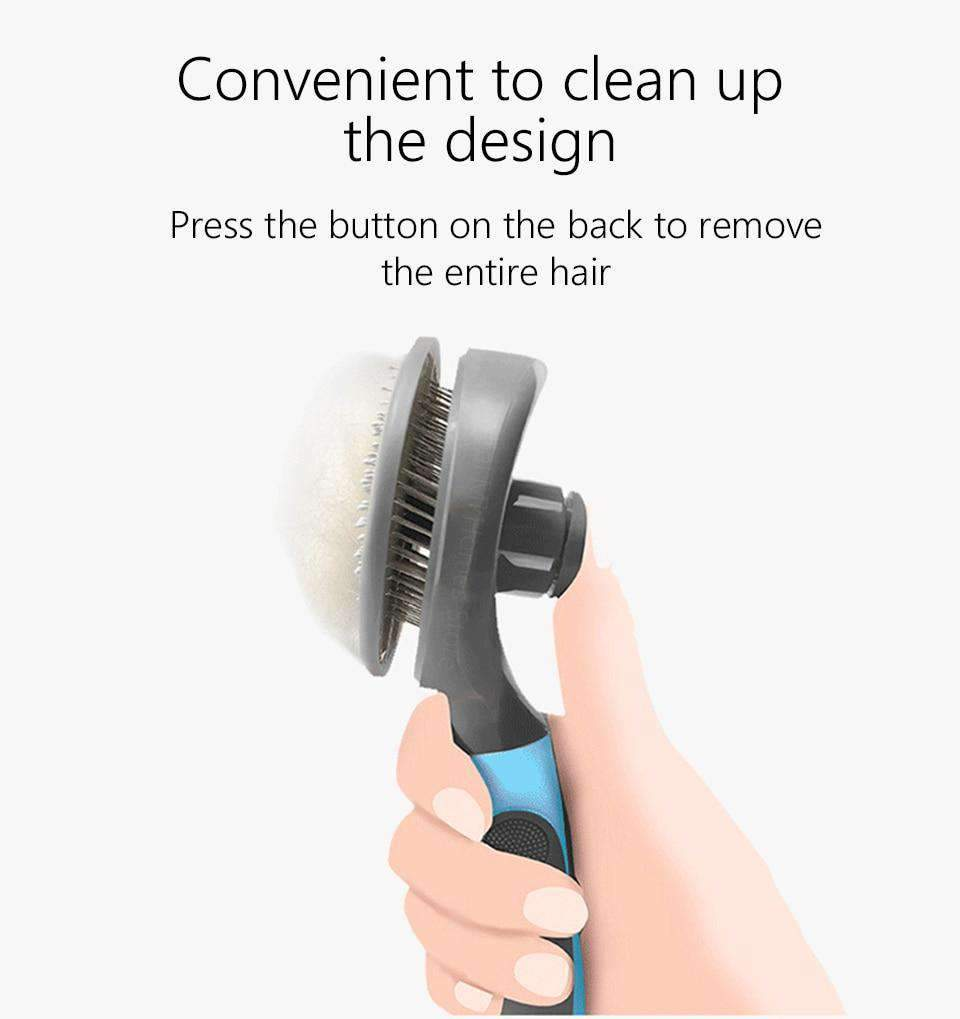 Easy Clean Up Pet Hair Removal Comb-Dog Options