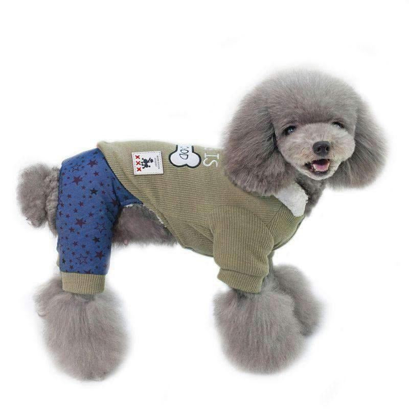 """""""This Is My Food""""Fleece Jacket Dog Clothes For Small Pet-Dog Options"""