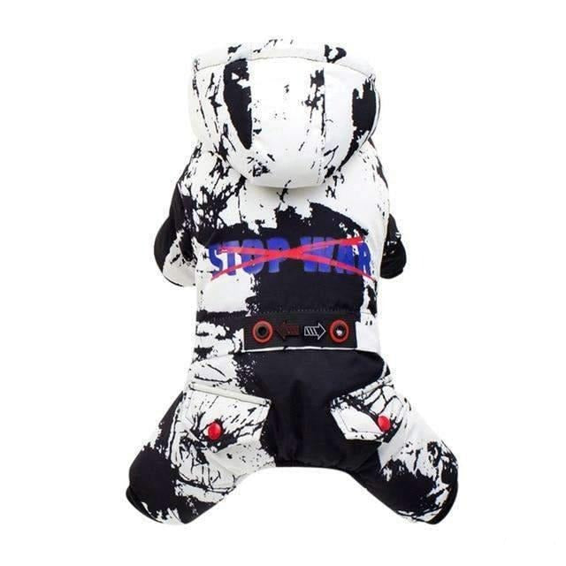"""Stop War"" Dog Clothes For Small Size-Dog Options"