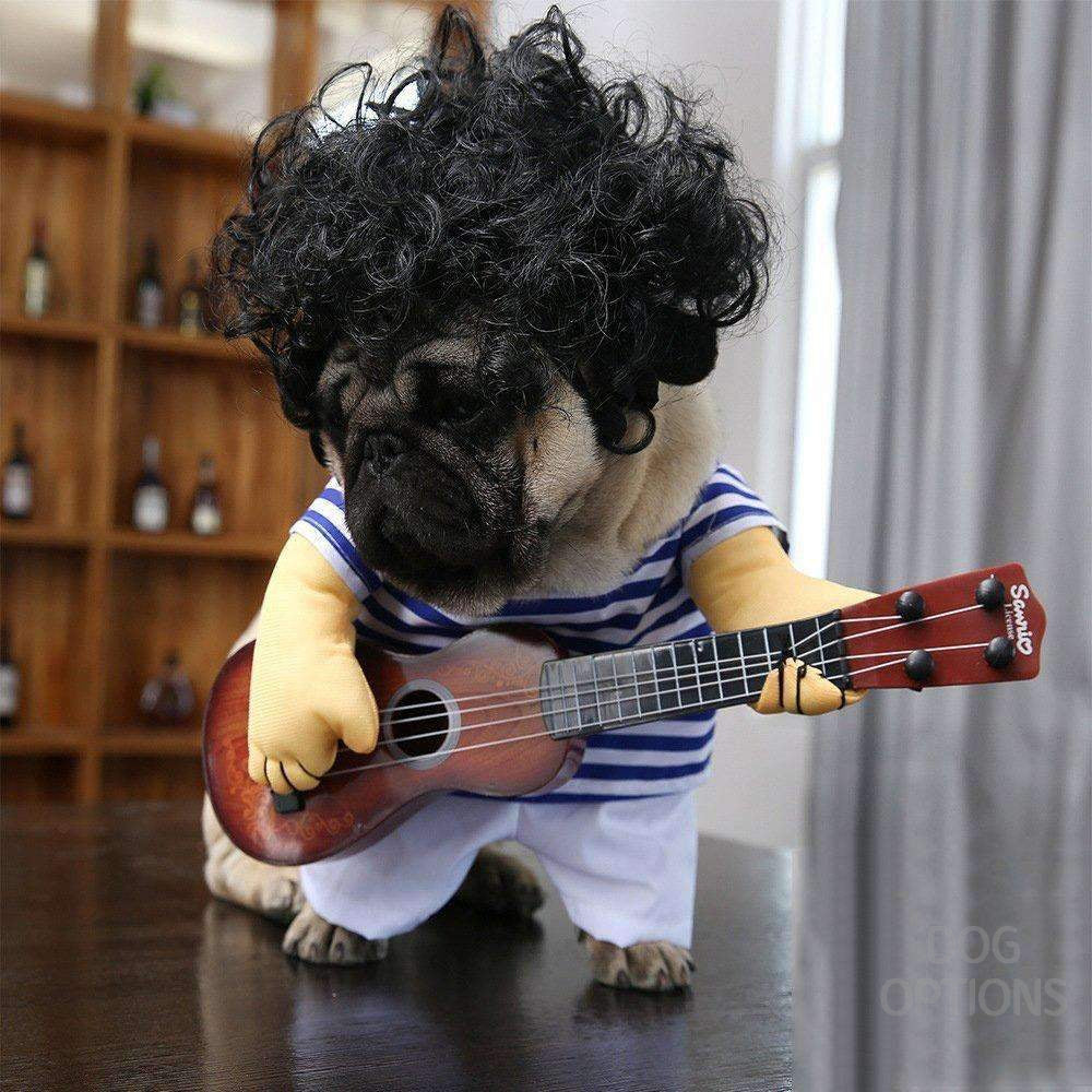 Superstar The Guitar Solo Pet Cosplay-Dog Options
