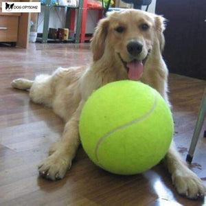 Giant Tennis Dog Ball-Dog Options