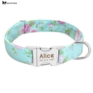 Personalized Dog Collar Engrave Name ID