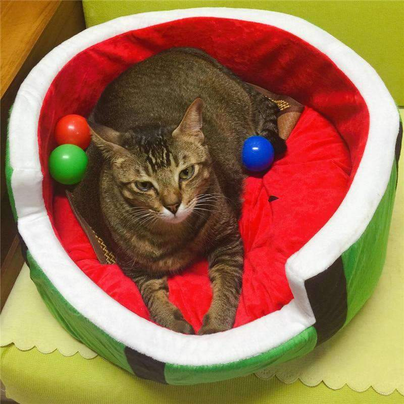 Cute Watermelon Kennel Dog Bed-Dog Options