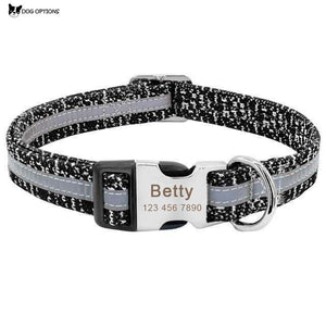 Personalized Engraving Reflective Dog Collars