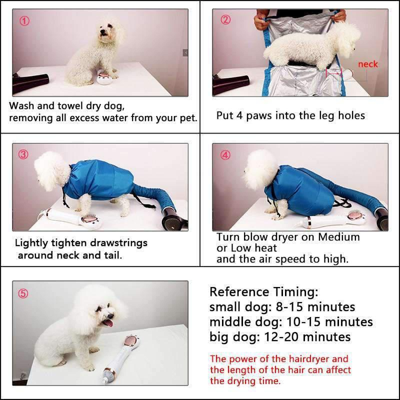 Dog Dryer Puff and Fluff Cheap Grooming Dryer-Dog Options