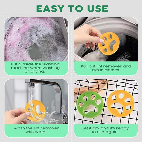 Pet Hair Remover for Laundry for All Pets