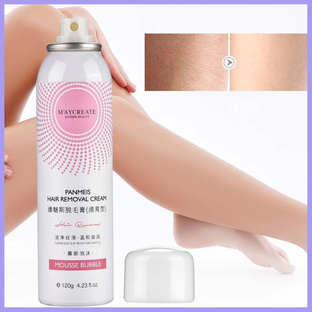 Natural & Painless Hair Remover Mousse Spray