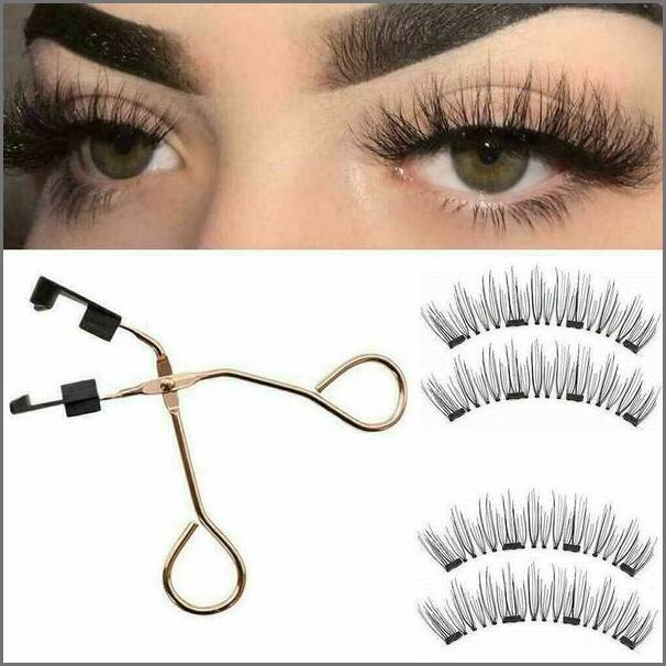 8D Quantum Magnetic Eyelashes with Soft Magnet Technology