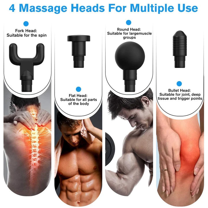 4-In-One Deep Muscle Massager