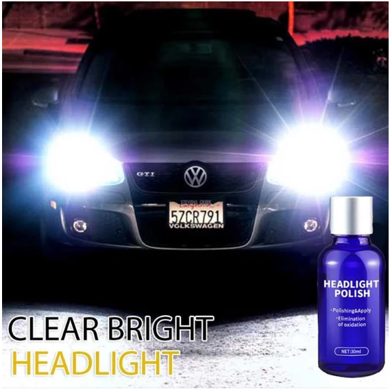 Automobile Headlight Cleaning Agent