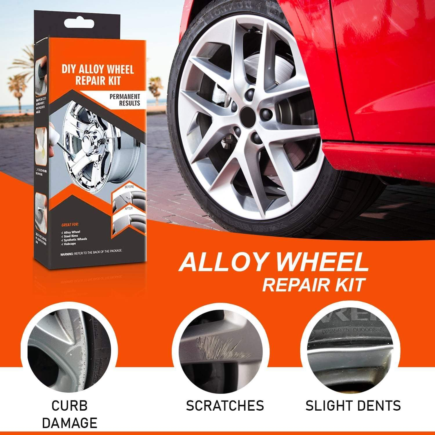 Alloyweld DIY Alloy Wheel Repair Kit