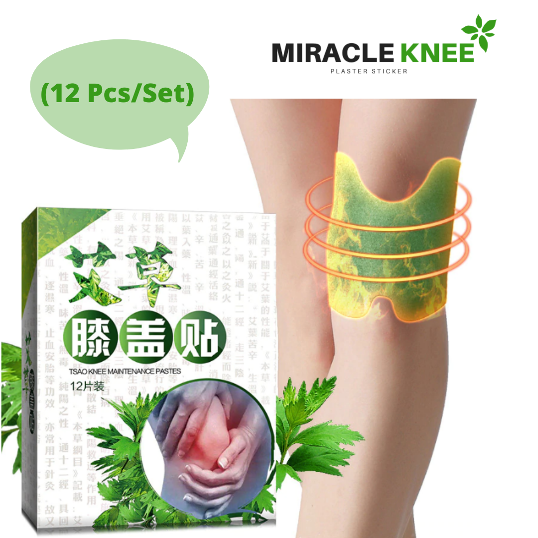 Miracle Knee Plaster Stickers - 12 packs