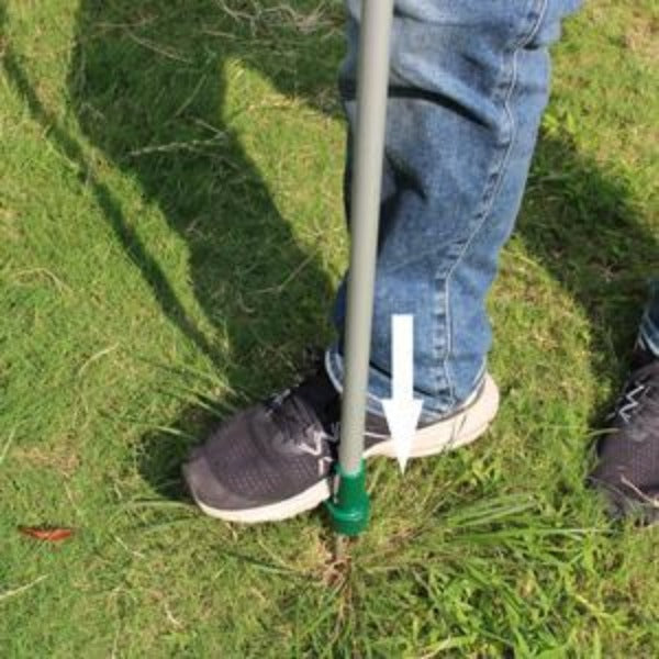 Standing Weeder And Weed Puller