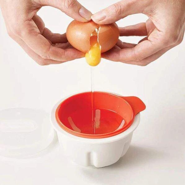 Perfect Microwave Egg Poacher