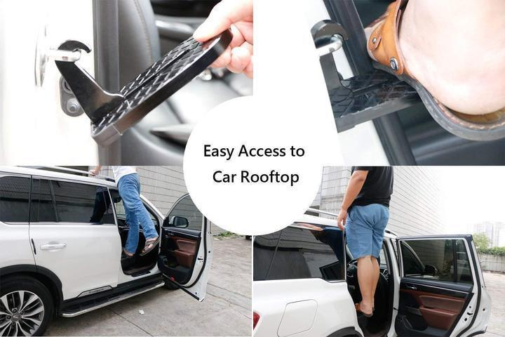Multifunction Car Rooftop Doorstep