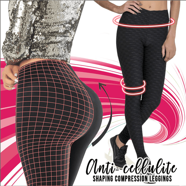 4D Anti-cellulite Compression Leggings