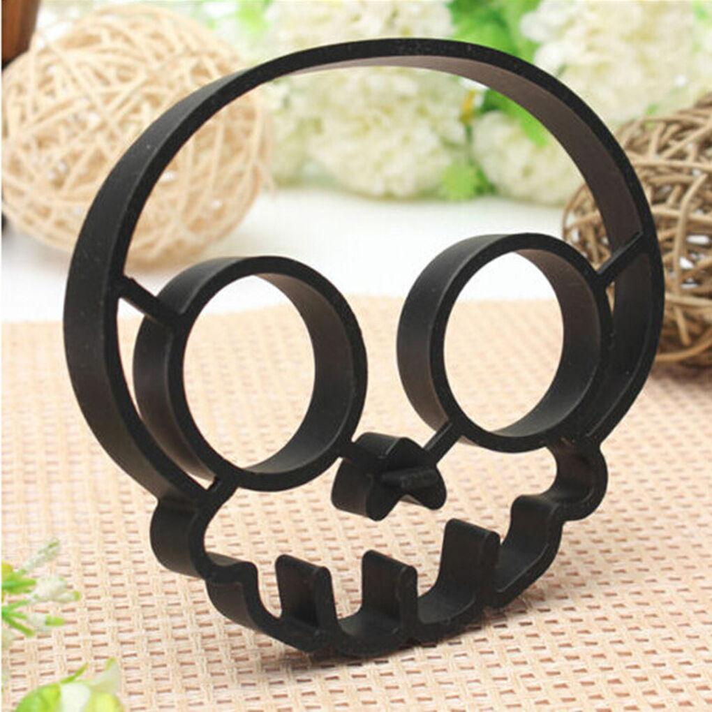 Halloween Horror Skull Fried Egg Mold