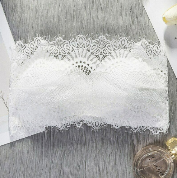 Women Seamless Lace Strapless Bras