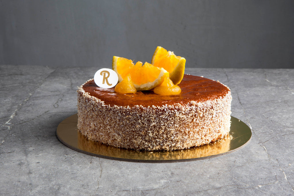 Orange Almond Flourless