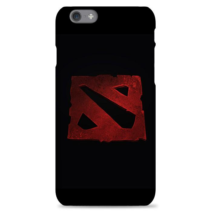 Dota 2 Red Bevel Logo