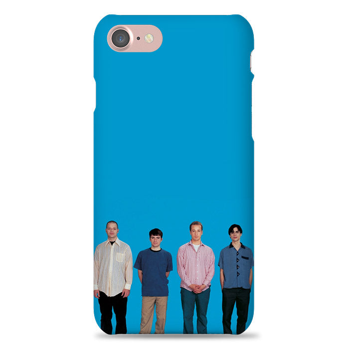 Weezer In Blue Background