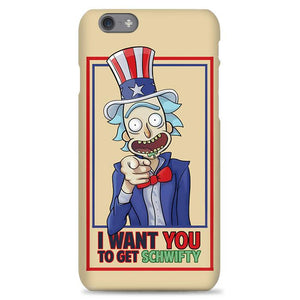 Rick Sanches I Want You To Get Schwifty