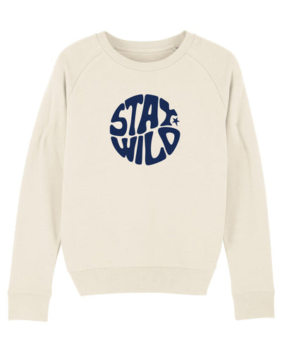 NEW Natural Stay Wild Sweatshirt