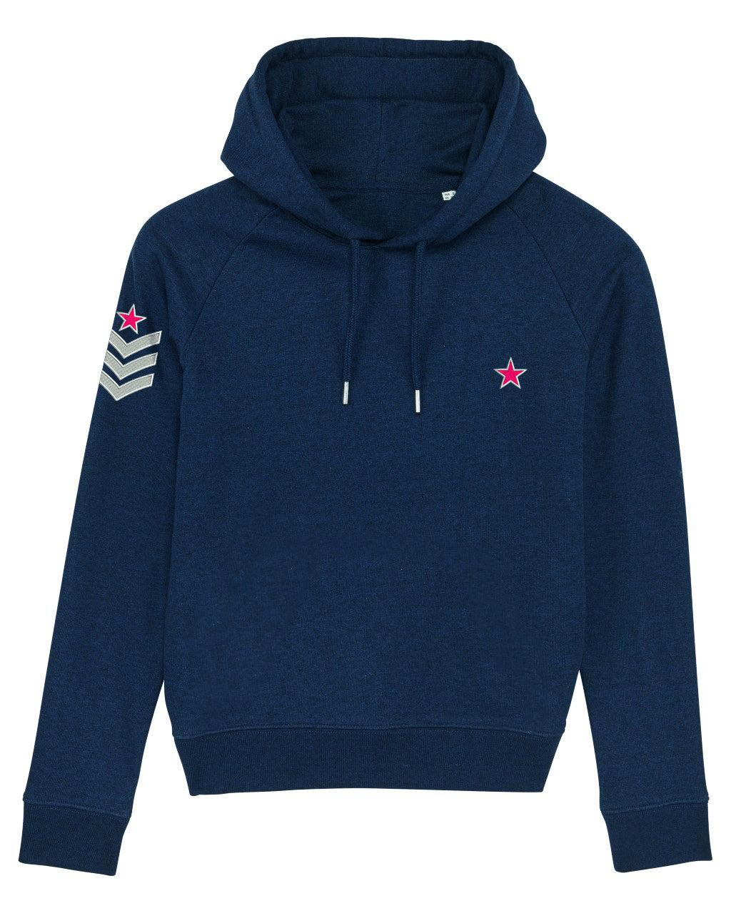 Navy Military Style hoodie