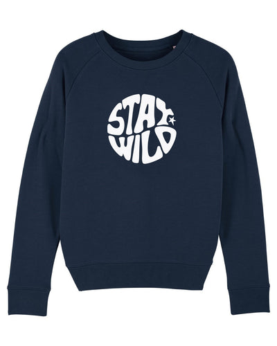 NEW Navy Stay Wild Sweatshirt