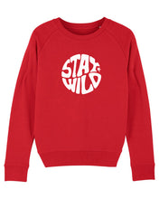 Load image into Gallery viewer, NEW Red Stay Wild Sweatshirt