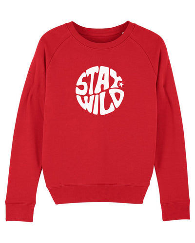 NEW Red Stay Wild Sweatshirt