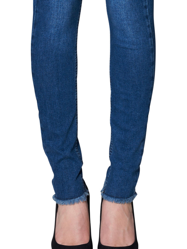 AMY RAW INDIGO FLEX HIGH WAIST