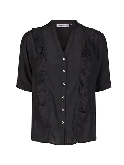 ESSENTIAL FRILL SHIRT