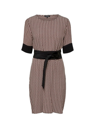 SLFABIGAIL-TUNNI SS AOP DRESS B