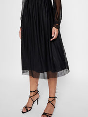 YASOPHIA LS MIDI DRESS