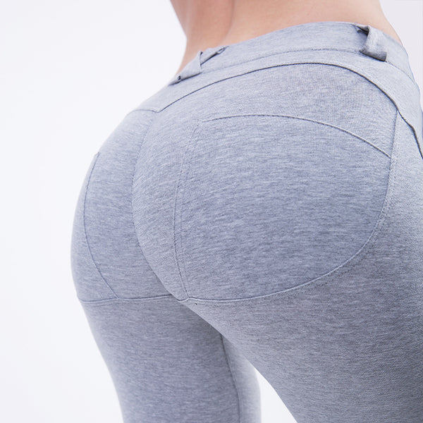 Women's Leggings High Waist Solid Sexy Skinny Sports Leggings