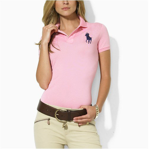 women's lapel ladies short-sleeved polo shirts women's T-shirts